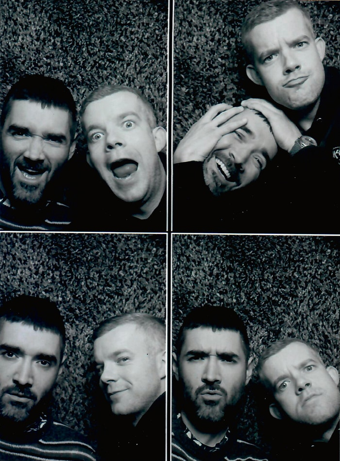Autor: Courtesy of Russell Tovey and Robert Diament